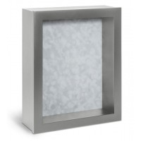 Shadow Box Frame - Silver Shadow Box - Contemporary Deep Shadow Box - Custom Framing Designs, USA
