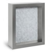 Shadow Box Frame - Silver Shadow Box - Contemporary Deep Shadow Box - Custom Framing Designs, USA