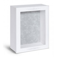 Shadow Box Frame - White Shadow Box - Contemporary Deep Shadow Box - Custom Framing Designs, USA
