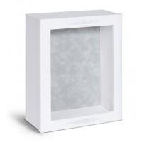 Shadow Box Frame - White Shadow Box - Contemporary Deep Shadow Box - Custom Framing Designs, USA